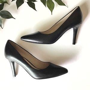 Cole Haan Grand OS Juliana Leather Heel Pumps